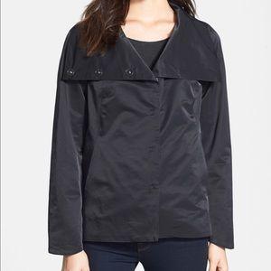Eileen Fisher Convertible Collar Light Jacket